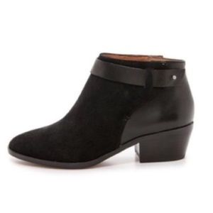 Madewell Charley Collar-Stud Ankle Boot